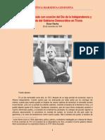 Hoxha - Discurso pronunciado con ocasión del Día de la Independencia y de la entrada del Gobierno Democrático en Tirana (1944)