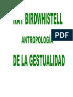 Antropologia de La Gestualidad(Bookos.org)
