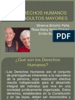 Los Derechos Humanos de Los Adultos Mayores