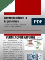 La Ventilacion en La Arquitectura
