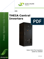 User Guide for THEIA Central Inverters
