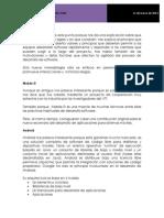 Metodología para el desarrollo en móviles