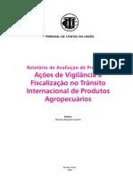 VIGIAGRO RELAT AÇÕES- 2006
