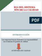 AUDITORIA DE GESTIÓN -CALIDAD