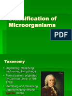 3 - Classification of Microorganisms