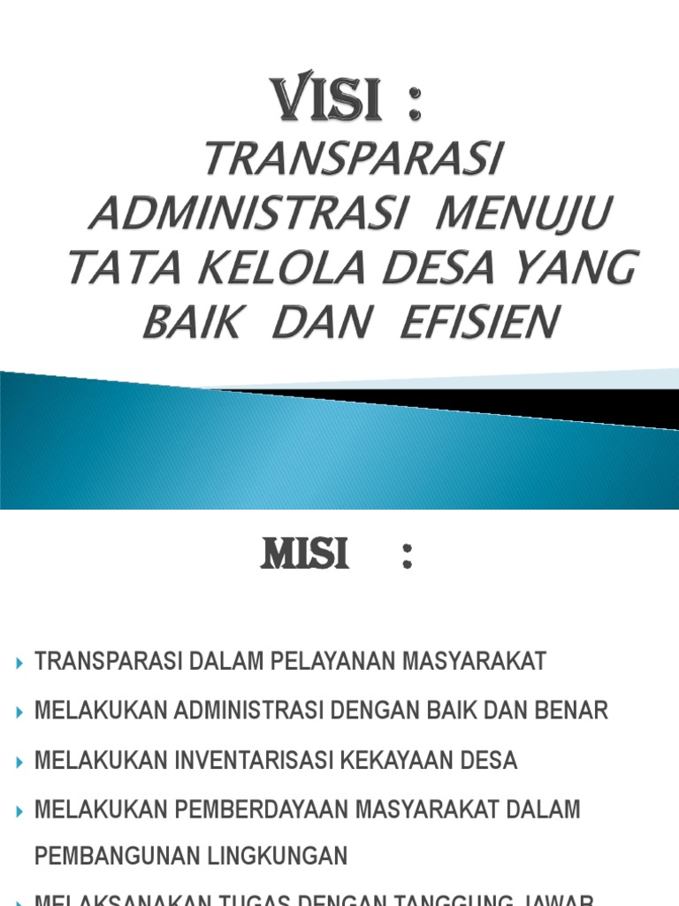 Download Visi Misi Dan Program Kerja Caleg Friendlydagor