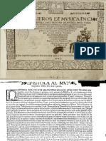 Tres Libros de Musica en Cifras Para Vihuela (1546)-Alonso Mudarra