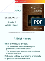Molecular Biology Fourth Edition Chapt01 Lecture