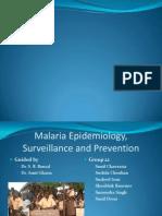 Malaria Epidemiology & Prevention