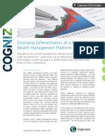 Emerging Differentiators of a Successful Wealtlh Management Platform