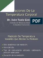 Alteraciones Temperatura Corporal