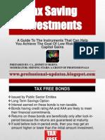 117029 60910 Tax Saving Investments