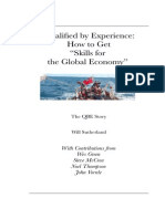 QBE First Edition Skills for the Global Economy by Will Sutherland  You are Qualified by Your Experience