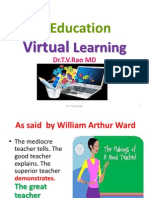 E-learning and Virtual Learning