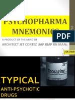 Basic PsychoPharma Mnemonics