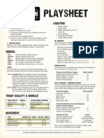 Bolt Action -Playsheet