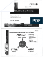 SAP2000V14 Hands-On Training Notes