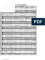 Test Schedule B.com Part 1