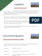 environmentallegislationsinindia-130108060632-phpapp01