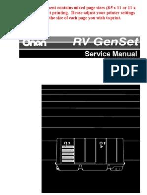 Onan 4kw Model 4kyfa26100k   Piston   Relay Onan Ky Remote Wiring Schematic on
