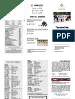 Thornton Park Ice Schedule
