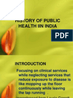 History of Public Health in India