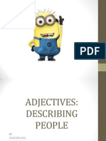ADJECTIVES FORM 1
