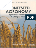 Experience From India in Contesting Agronomy Bk