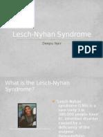 Lesch Nyhan Syndrome