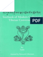 09 Textbook of Modern Colloquial Tibetan Conversation