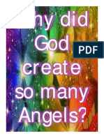 Why did God create so many Angels?