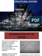 Vector Structural System Trusses