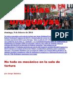 Noticias Uruguayas Domingo 9 de Febrero Del 2014