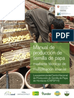 Manual de producción de semilla de papa mediante técnicas de reproducción asexual