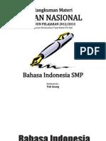 Rangkuman Materi UN Bahasa Indonesia SMP Revised