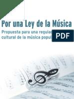 Libro Ley de La Musica