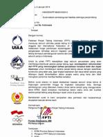 Surat Untuk Gubernur Se Indonesia