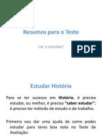 resumosparaoteste-091007114523-phpapp01