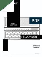 Atari Falcon030 Owners Manual