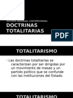 DOCTRINAS TOTALITARIAS