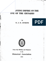 R. J. H. Jenkins - The Byzantine Empire on the Eve of the Crusades (1953)