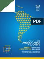 OIT - Avances 2010-2011 y Perspectivas 2012-2013
