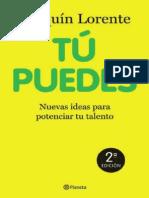 Tu Puedes - Joaquin Lorente