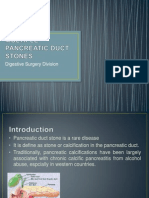 Multiple Pancreatic Duct Stones