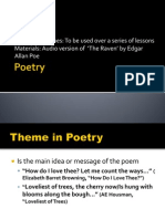 Poetry Ppt Poetry Techniques/Poetic Devices
