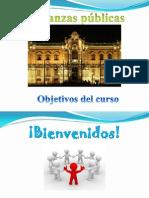 MADE XXXI-B Objetivos Curso Finanzas públicas