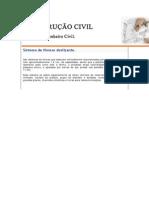 CONSTRUÇÃO CIVIL SISTEMA DE FÔRMAS