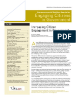 Engaging Citizens in Government Fall 2009