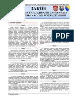 06-06 Zakon o Osnovama Bezbjednosti Saobracaja Na Putevima u Bosni i Hercegovini