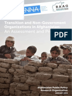 Transition and NGOs in Afghanistan
